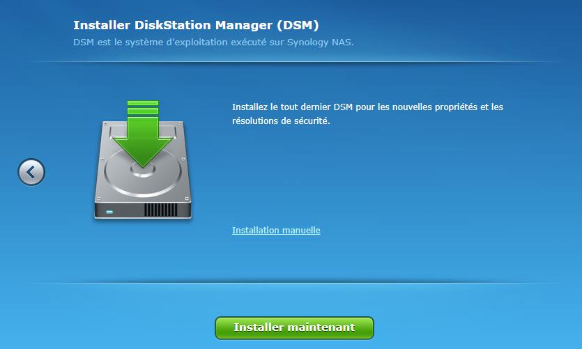 Installation de DSM